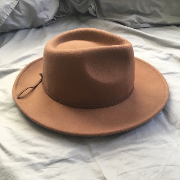 c1bdb79294b75 Forever 21 Accessories - Forever 21 - Wide Brim Fedora (tan brown)
